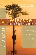 Leviticus (Wiersbe Bible Study Series) Paperback