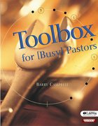 Toolbox For Busy Pastors Paperback