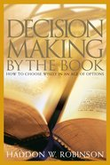 Decision-Making By the Book Hardback