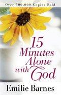 15 Minutes Alone With God Hardback