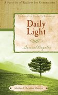 Daily Light Paperback