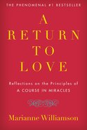 A Return to Love eBook