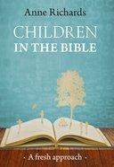 Children in the Bible eBook