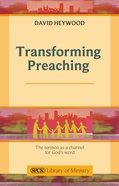 Transforming Preaching eBook