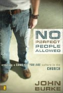 No Perfect People Allowed (With Dvd) Hardback