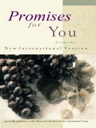 Promises For You (From The New International Version) eBook