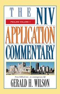 Psalms (Volume 1) (Niv Application Commentary Series)
