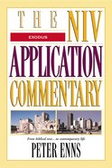 Exodus (Niv Application Commentary Series) eBook