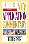 Exodus (Niv Application Commentary Series)