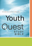 NIV Quest Study Youth Bible (Ages 11-14)
