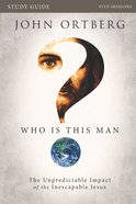 Who is This Man? (Study Guide) Paperback