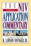 Judges, Ruth (Niv Application Commentary Series) eBook