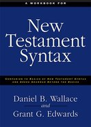 A Workbook For New Testament Syntax eBook