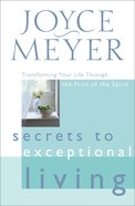 Secrets to Exceptional Living eBook