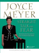 Straight Talk on Fear Paperback