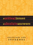 Critical Issues. Absolute Answers. eBook