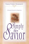 Simply the Savior eBook