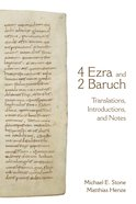 4 Ezra and 2 Baruch Paperback