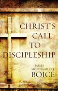 Christ's Call to Discipleship Paperback