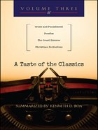 A Taste of the Classics (Volume 3) (#03 in Taste Of The Classics Series) eBook