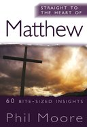 Matthew (Straight To The Heart Of Series) eBook