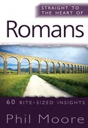 Romans (Straight To The Heart Of Series) eBook