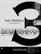 Siwh #03: Modern Age to Present, the (Middle School Student) (Teacher's Guide) (#03 in Studies In World History Series) Paperback