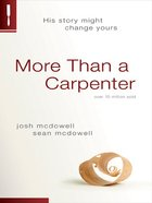 More Than a Carpenter eBook