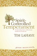 Spirit-Controlled Temperament eBook