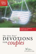 The One Year Book of Devotions For Couples eBook