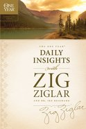 The One Year Daily Insights With Zig Ziglar eBook