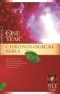 NLT One Year Chronological Bible