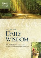 The One Year Daily Wisdom eBook
