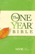 NIV One Year Bible Green eBook