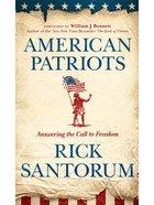 American Patriots eBook