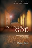 Listening For God eBook