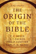 The Origin of the Bible eBook