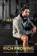 First: What It Takes to Win eBook