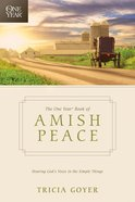 The One Year Book of Amish Peace eBook
