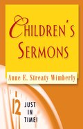 Children's Sermons (Just In Time Series) eBook