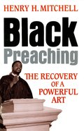 Black Preaching (101 Questions About The Bible Kingstone Comics Series) eBook