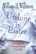 Undone By Easter eBook