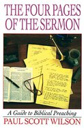 The Four Pages of the Sermon eBook
