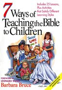 7 Ways of Teaching the Bible to Children eBook