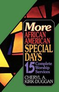 More African American Special Days eBook