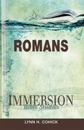Romans (Immersion Bible Study Series) eBook