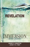 Revelation (Immersion Bible Study Series) eBook