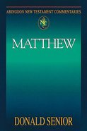Matthew (Abingdon New Testament Commentaries Series) eBook