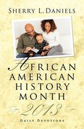 African American History Month 2013 eBook