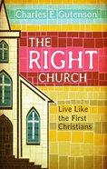 The Right Church eBook
